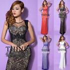 Free Shipping Formal Evening Gown Bridesmaid Prom Cocktail Party Birthday Dress