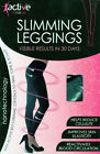 ANTI-CELLULITE CALORIE BURNING SLIMMING LEGGINGS WITH NANOTECHNOLOGY, S - XXXL