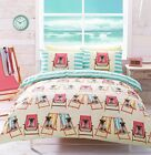 # Bedding range, Hashtag PUGS on deckchairs, in single double or king size