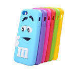 3D Cartoon Fashion Soft Rubber Silicone Back Case Cover Skin for iPhone 4/5/5C/6