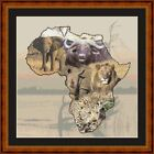 AFRICAN ANIMALS -14 COUNT CROSS STITCH CHART PDF/PRINTED  FREE PP WORLDWIDE