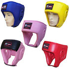 Rex Leather Boxing Head Guard  Halmet Face Protector Gear  Mens,Ladies