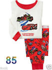 Lightning McQueen Cotton Sleepwear Pajama Sets for Toddler Boys Kids Size: 1T~6T