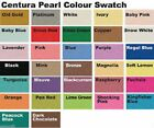 Centura Pearl A4 Card Stock 10 Sheets 300gsm Single Sided - Single Colour Packs