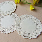 100pcs Doilies Party Wedding Cupcake Cookies Lace Paper Pads Placemat Decoration