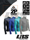 NEW Adrenalin ZIPPER Thermal 2P Fleece Rash Top Coloued Superstretch Long Sleeve
