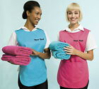 PERSONALISED TABARD PRINTED TEXT CATERING CLEANING OFFICE WORKWEAR TABBARD