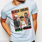 Reggae, T-shirt, Black Uhuru, yellow man, suga minott, rastafari, dancehall, new