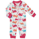 Koala Baby Girls Animal Themed Zip Up Coveralls