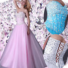 New Wedding Fashion Bridesmaid Evening Party Ball Gown Prom Formal Long Dresses