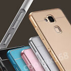 New Luxury Slim Aluminum Metal Bumper Case + Back Cover For Huawei Ascend Mate7