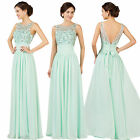 Sexy Beaded Formal Evening Party Wedding Ball Gown Graduation Prom Dresses 6-20