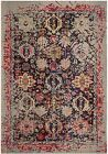 Grey / Multi Safavieh Power Loomed Monaco Area Rugs - MNC206G