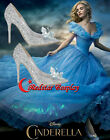New Movice Cinderella Cosplay Shoes Blue 'Shine' Rhinestone Heel Sparkly NIB