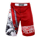 GRAPPLING FIGHT SHORTS EXTREME HOBBY POLSKA ORZEŁ IDEAL FOR MMA TRAINING, GYM