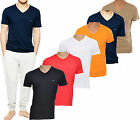MENS EMPORIO ARMANI T-SHIRTS V-NECK 100% COTTON - REGULAR FIT (NEW COLLECTION)
