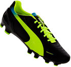 PUMA EVOSPEED 3.2 FG MENS FOOTBALL BOOTS BLACK 102864 01 UK 8.5 to 11