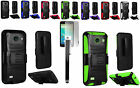 Stylus Pen+LCD+Holster Rugged Case Cover for AT&T Huawei Tribute Fusion 3 Y536A1