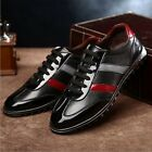 New 2015 Men Leather Shoes Casual Leather Lace-up Shoes Plus Size US5-12