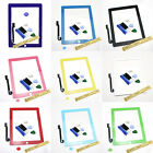 New Touch Screen Digitizer Glass w/ Home Button Adhesive fr iPad 3 3G 3rd Tool*8