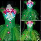 Elsa Disney Frozen Fever (Inspired) Tutu Dress  2-12 Handmade