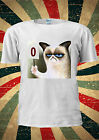 GRUMPY CAT POINT SCORE 0 FUNNY KITTEN T-shirt Vest Top Men Women Unisex 1936