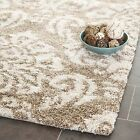 Safavieh Ultimate Power Loomed BEIGE Shag Area Rugs - SG460-1311