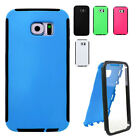SAMSUNG Galaxy S6 Case Cover, Heavy Duty Case Cover with BuiltIn Screen Protetor