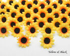 50X100X500X Daisy Artificial Silk Flower Heads Wholesale Lots F01-A
