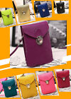New PU Leather Mini Cross-body Messenger Bag Purse Shoulder  Mobile Phone Bag J
