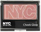 NYC Cheek Glow, Pressed Powder Blusher ~ Choice of Shades.