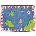 Small / Large Pirate Treasure Map Play Mat / Floor Quilt / Rug by Win Green