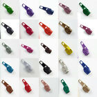 EXTRA ZIP SLIDERS FOR No.3 CONTINUOUS ZIPS *26 COLOURS*  ZIPPER FASTENINGS ONLY!