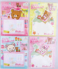 Rilakkuma Die-Cut Removable Adhesive Paper/Sticky Notes (Your Choice of Design)
