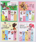 The Bear's School Stick Markers / Tabs/ Sticky Notes (Your Choice of Design)