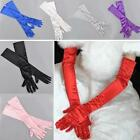 Fashion Satin Long Gloves Opera Wedding Bridal Bride Evening Party Costume