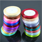 New Cute 22 Metres 1cm Satin Ribbon Multiple Colours Sold by Rolls ZHH015