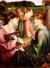 Bower Meadow by Dante Rosetti (classic art print)