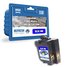COMPATIBLE FRAMA 1003589 MATRIX FRANKING MACHINE BLUE INK CARTRIDGE (10397-801)