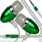 Stereo Sound In Ear Hands Free Headset Head Phones+Mic fits Huawei Ascend G620s