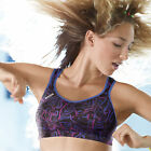 NEW Shock Absorber S4490 High Impact Sports Bra Black/Blue/Print  VARIOUS SIZES