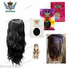 "KOKO 26"" Beach Wave Wavy Synthetic Half Head Wig 3/4 Weave Hair Piece -Grace"