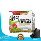 BSC GREEN TEA TX100 - 60 SERVES - THERMOGENIC + DETOX -  BODY SCIENCE - TX 100 B