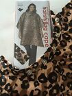 (Reg $22) ANDRE Water & Chemical Resistant LEOPARD SAFARI Hairstyling Salon Cape