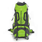 NEW women men 80L Outdoor Backpack Hiking Camping Travel Rucksack Waterproof Bag