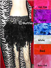 Burlesque Moulin Rouge  Feather Skirt Sizes UK 6-16