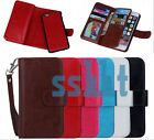 Luxury Wallet 9 Card Holder Leather Phone Flip Case Cover for iPhone 6 & 6 Plus