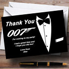 James Bond d Personalised Party Thank You Cards £34.95 GBP on eBay