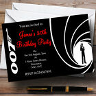 James Bond  Personalised Party Invitations £25.75 GBP
