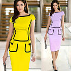 Sexy Women's Bodycon Bandage Summer Evening Cocktail Party Stretch Sheath Dress